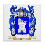 Mertz Tile Coaster