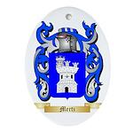 Mertz Oval Ornament