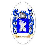 Mertsching Sticker (Oval 50 pk)