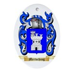 Mertsching Oval Ornament