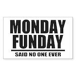 Monday Funday Sticker