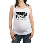 Monday Funday Maternity Tank Top