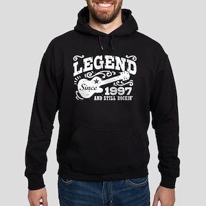 Legend Since 1997 Hoodie (dark)