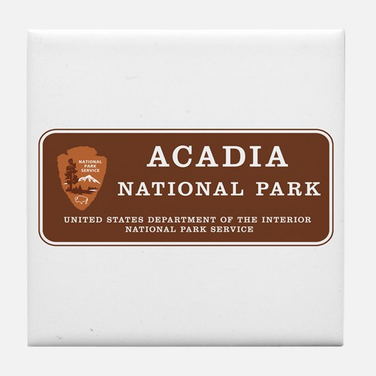 Acadia National Park, Maine Tile Coaster
