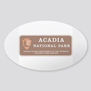 Acadia National Park, Maine Sticker (Oval)