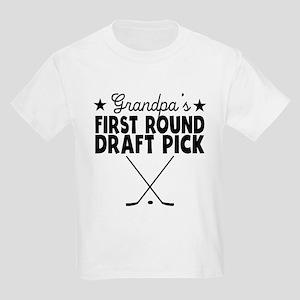 Grandpas First Round Draft Pick Hockey T-Shirt