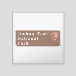 "Joshua Tree National Park, Square Sticker 3"" x 3"""