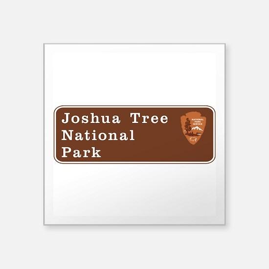 "Joshua Tree National Park, Square Sticker 3"" x 3"""