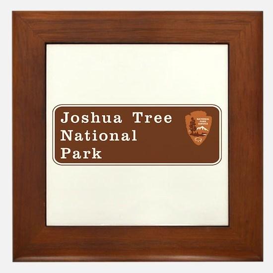 Joshua Tree National Park, California Framed Tile