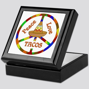 Peace Love Tacos Keepsake Box