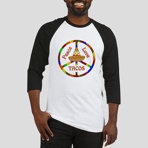 Peace Love Tacos Baseball Jersey