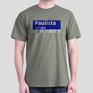 Avenida Paulista, Sao Paulo, Brazil Dark T-Shirt