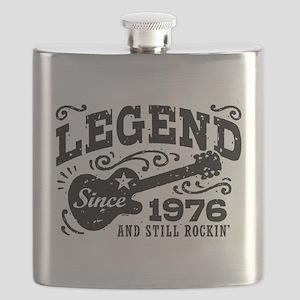 Legend Since 1976 Flask