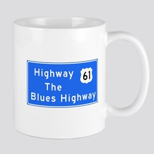 The Blues Highway 61, TN & MS Mug