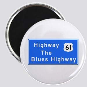 The Blues Highway 61, TN & MS Magnet