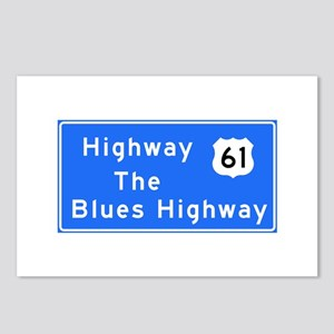 The Blues Highway 61, TN Postcards (Package of 8)