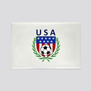 USA Soccer Crest Magnets