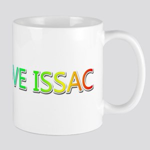 Peace Love Issac Mugs