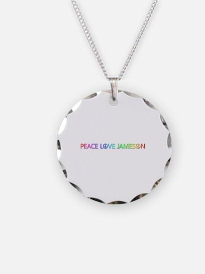 Peace Love Jameson Necklace