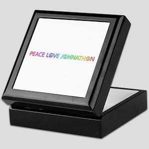Peace Love Johnathon Keepsake Box