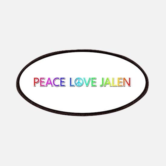 Peace Love Jalen Patch