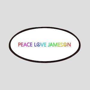 Peace Love Jameson Patch