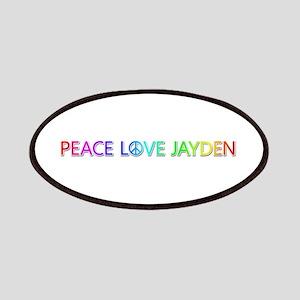 Peace Love Jayden Patch
