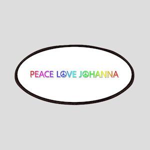 Peace Love Johanna Patch