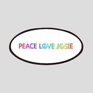 Peace Love Josie Patch