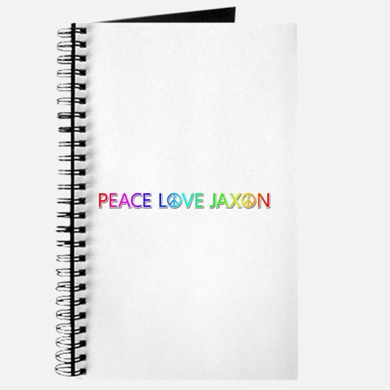Peace Love Jaxon Journal