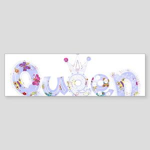 Queen fabric 11 Bumper Sticker