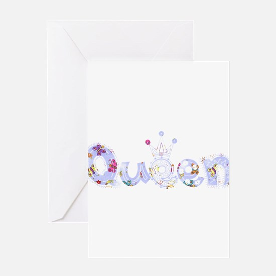 Queen fabric 11 Greeting Card