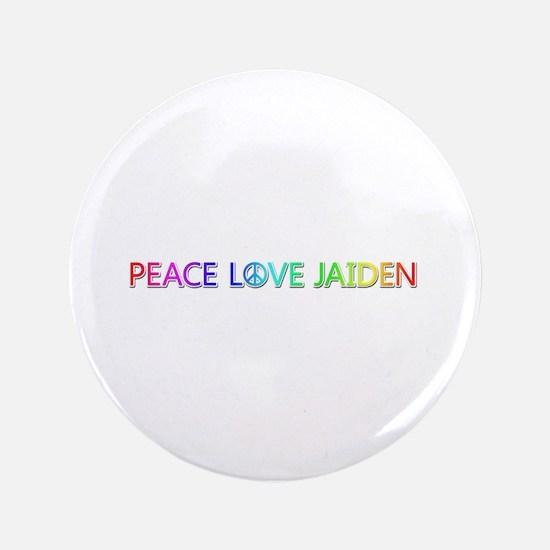 Peace Love Jaiden Big Button