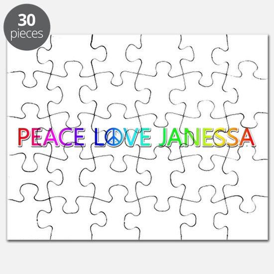 Peace Love Janessa Puzzle