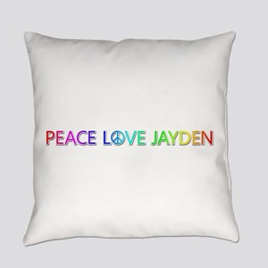 Peace Love Jayden Everyday Pillow