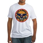 USS KLONDIKE Fitted T-Shirt