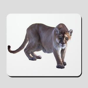 Stalking Cougar Mousepad