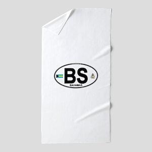 bahamas-oval Beach Towel