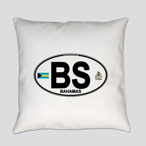 bahamas-oval Everyday Pillow
