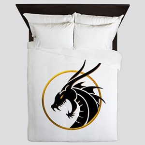 Dragon Logo Queen Duvet
