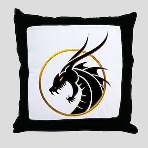 Dragon Logo Throw Pillow