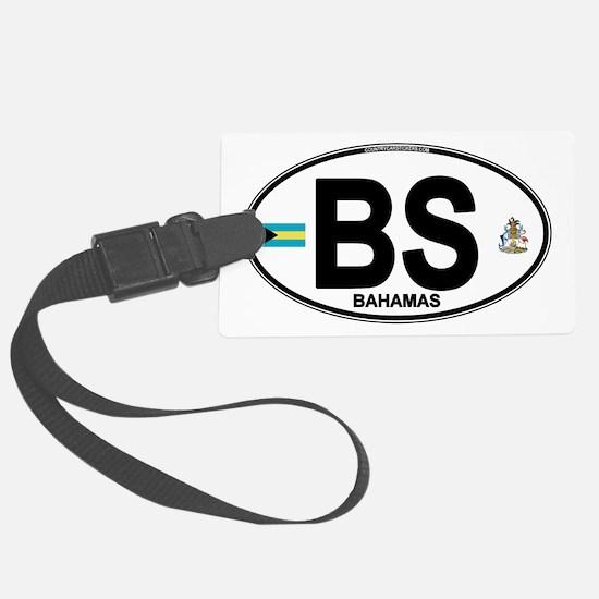 bahamas-oval.png Luggage Tag