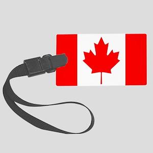 canada-flag Large Luggage Tag
