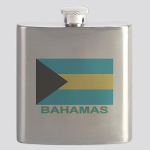 bahamas-flag-labaled Flask