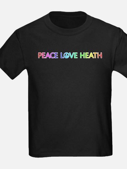 Peace Love Heath T-Shirt