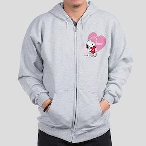 Snoopy - Hugs and Kisses Zip Hoodie