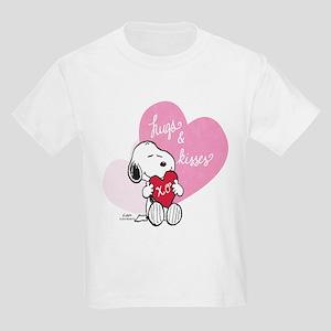 Snoopy - Hugs and Kisses Kids Light T-Shirt