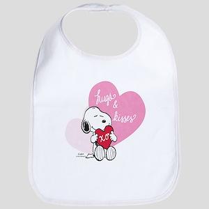 Snoopy - Hugs and Kisses Bib
