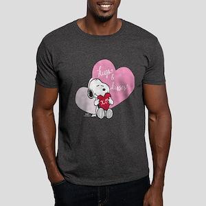 Snoopy - Hugs and Kisses Dark T-Shirt