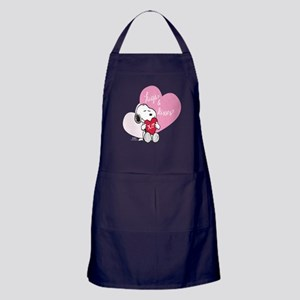 Snoopy - Hugs and Kisses Apron (dark)